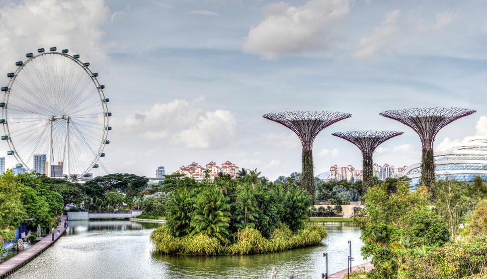 El ingreso a los Jardines de la Bahía cuesta US$28. En la cúspide del árbol más alto se ubica el restaurante Pollen. (Foto: iStock)