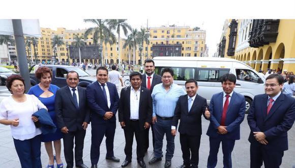 La bancada de Somos Perú comenzó con 11 miembros. Ahora se queda con cinco (Foto: Grupo El Comercio)