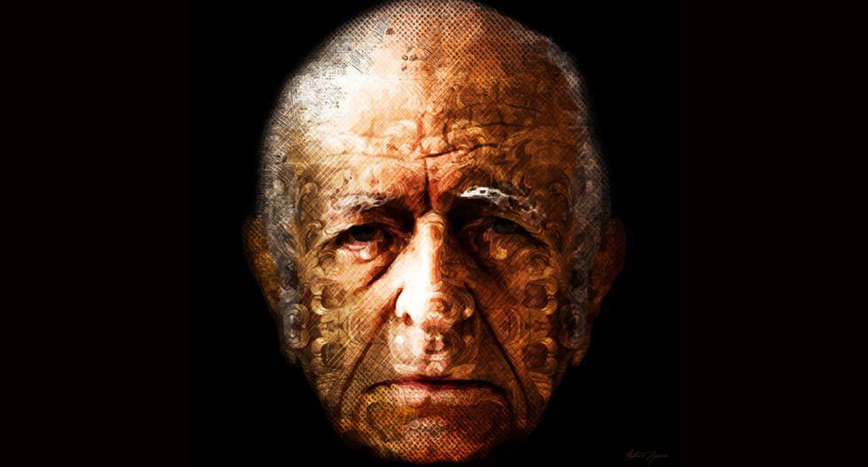 Retrato de Fernando de Szyszlo que forma parte de la muestra 'Arte Interactivo'. (Foto: Difusión)