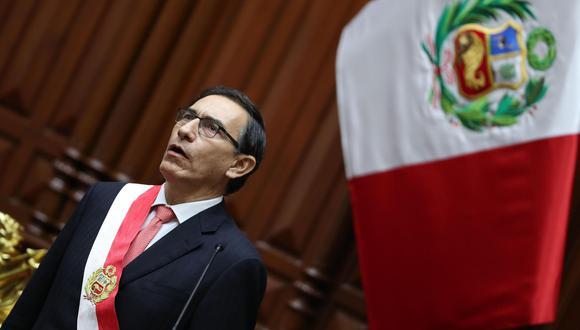 El presidente Martín Vizcarra afirmó que renovará la totalidad del Gabinete. (Foto: EFE)