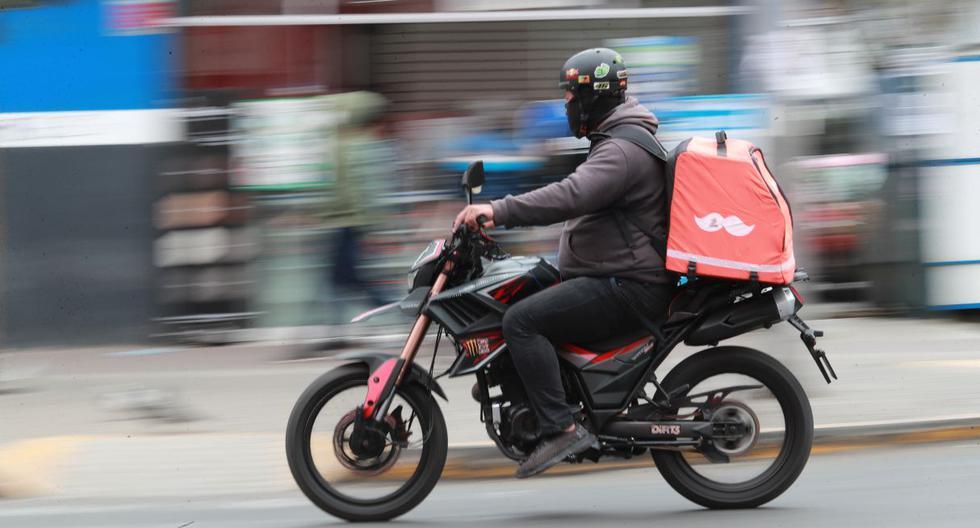 El 36% de repartidores de apps de delivery las usa pues quiere ser independiente, según ComexPerú. (Foto: Lino Chipana / GEC)