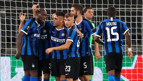 Inter aseguró su pase a los cuartos de final tras vencer al Getafe | Foto: AFP