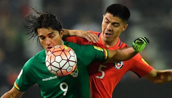 Chile vs Bolivia se enfrentan por la octava jornada de las Eliminatorias Qatar 2022. (Foto: AFP)