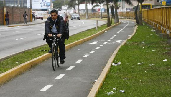Solo el 5% de limeños usa bicicletas como transporte habitual