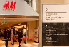H&M llega a Cusco: será la primera tienda en Latinoamérica con señalización en lengua originaria