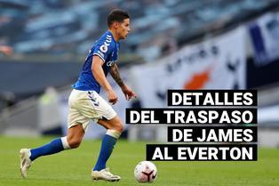 James Rodríguez: Conoce los detalles de su traspaso al Everton de la Premier League