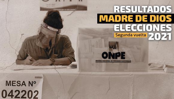 Conoce los resultados electorales en Madre de Dios   Foto: Diseño El Comercio