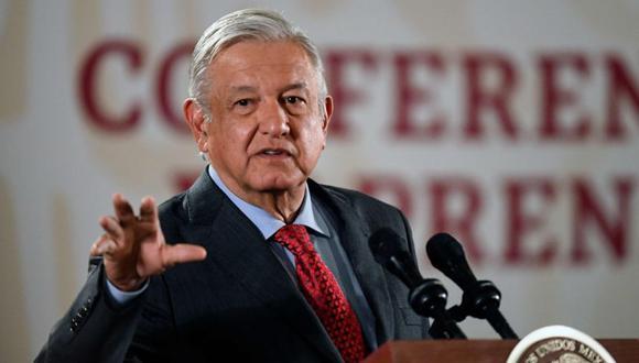 Andrés Manuel López Obrador, presidente de México. (AFP / PEDRO PARDO)