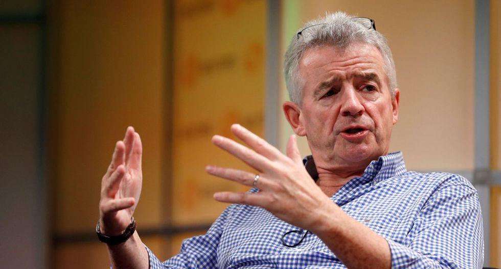 """""""No se pueden decir algunas cosas, porque es racismo, pero son generalmente hombres de confesión musulmana"""", dijo el presidente de la aerolínea Ryanair, Michael O'Leary. (Reuters)."""