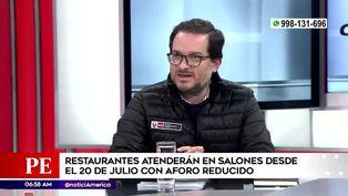Restaurantes podrán atender en sus locales desde el 20 de julio