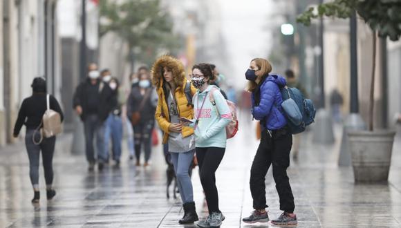 Lima registra la temperatura más baja en lo que va del año. (Foto: César Bueno @photo.gec)