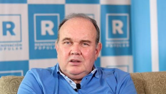 """Yo apelé y les gané en el Poder Judicial"", añadió Rafael López Aliaga. (Foto: GEC)"
