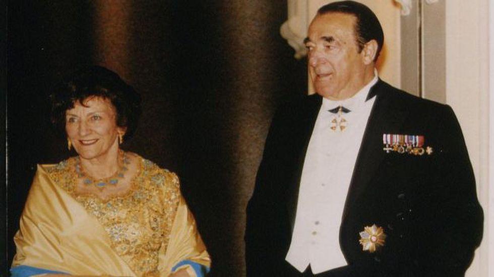 Robert Maxwell fue un renombrado magnate de los medios británicos. Foto: Getty images, vía BBC Mundo
