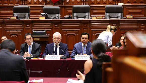 """Guido Lombardi también opinó que Fuerza Popular tuvo la voluntad, desde el primer día del gobierno, de """"impedir"""" que PPK """"ejerza"""" su mandato con tranquilidad. (Foto: Congreso)"""
