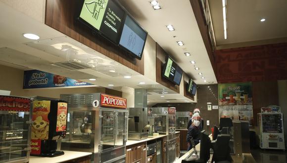 ¿Cree que se debe permitir la venta de alimentos en los cines? (Foto: César Campos | GEC)