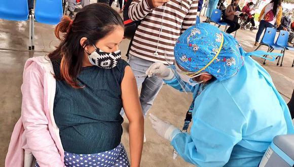 La comuna enfatizó que la iniciativa tiene como objetivo reconocer a los residentes de La Molina por su participación en el proceso de inmunización masiva. (Foto: Minsa)