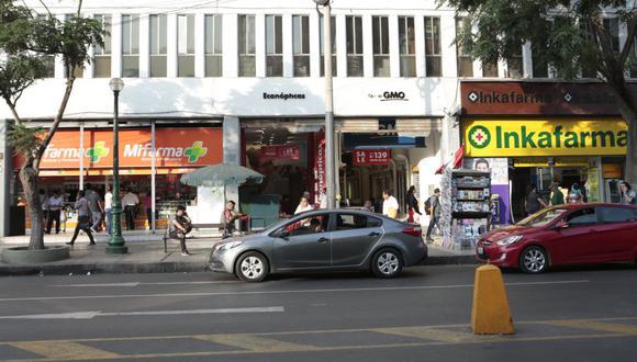 El alza en el precio de los medicamentos motivó el alza de los precios durante la cuarentena. (Foto: Diana Chávez | GEC)