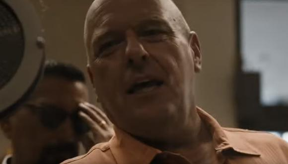 """El nuevo tráiler  de """"Better call Saul"""" cuenta con la presencia del actor Dean Norris, quien interpretó a Hank Schrader en """"Breaking Bad"""". (Captura de pantalla)"""