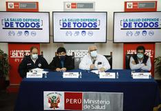 Viceministro Luis Suárez sostiene que vacuna contra el COVID-19 tendría que aplicarse todos los años
