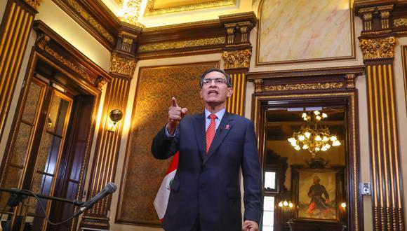 Dominical reveló más contrataciones ligadas a los amigos del presidente Martín Vizcarra. (Foto: Presidencia)