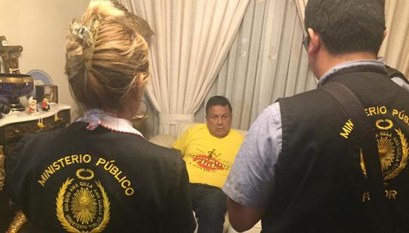 Juan Sotomayor, ex alcalde del Callao, fue detenido por estar presuntamente implicado en actos de corrupción. (Difusión)