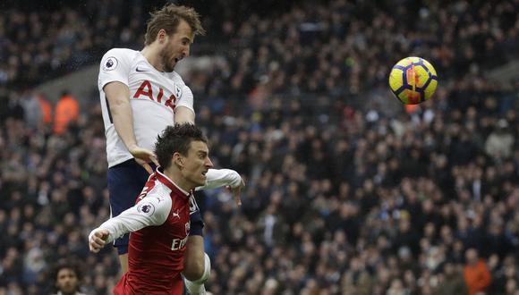 YouTube: Harry Kane y su golazo que es viral por su gran salto. (Foto: AFP)