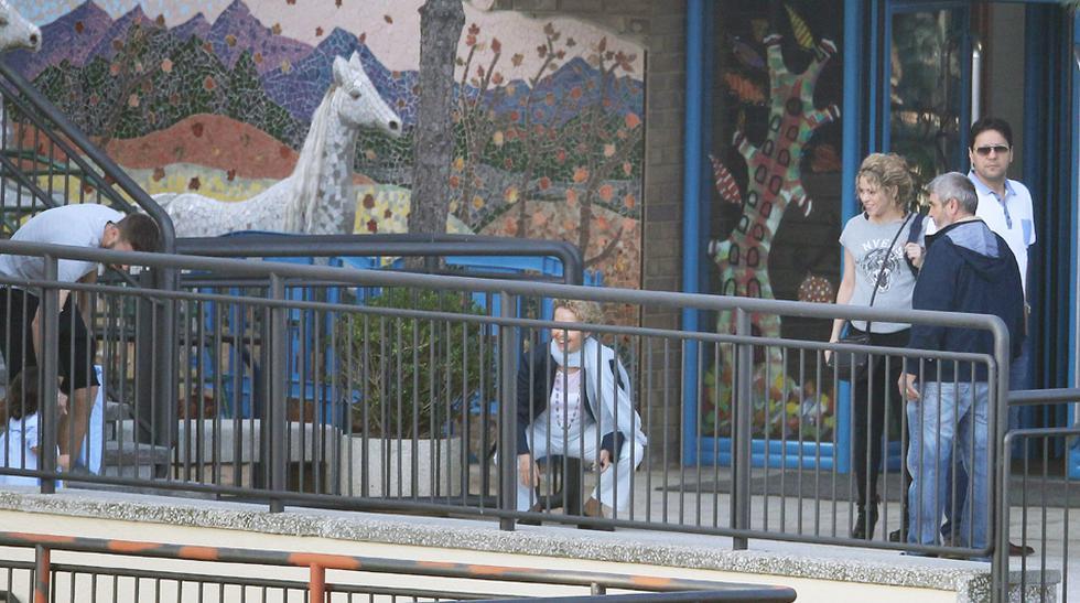 El primer día de colegio de Milan, el hijo de Shakira y Piqué - 7