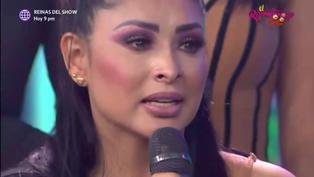 Pamela Franco llora al escuchar las emotivas palabras de Christian Domínguez en el Reventonazo