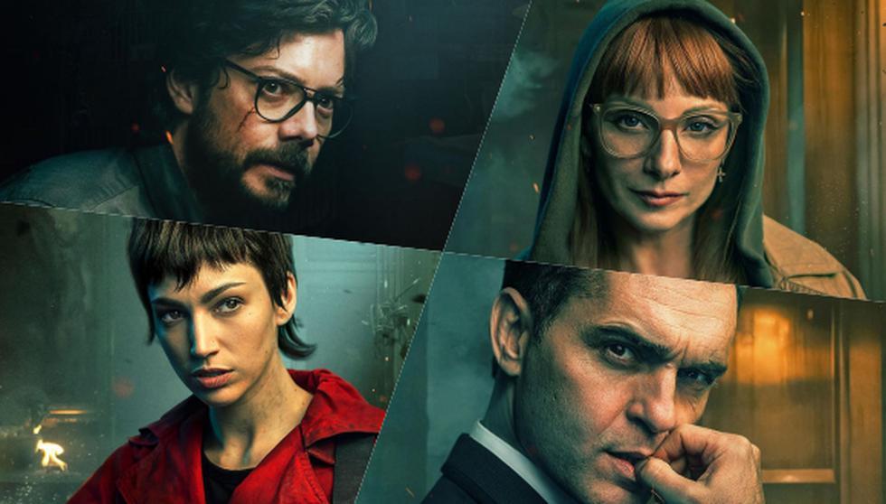 """Netflix lanzó este 11 de agosto una serie de pósters del elenco de """":La casa de papel"""" de cara al estreno de la primera parte de la quinta y última temporada de la serie en Netflix."""