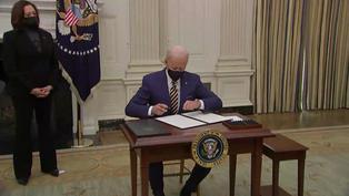 Biden advierte que COVID puede dejar 600.000 muertos en EE.UU y urge aprobar plan de rescate