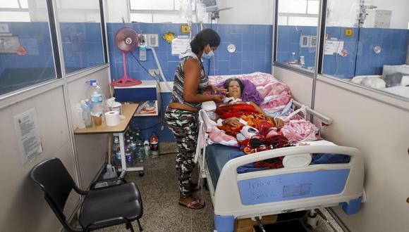Imagen referencial. Fotografía de las instalaciones del Hospital Dr. José María Vargas el jueves 10 de mayo de 2018, en Caracas, Venezuela. (EFE)