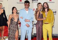 Latin Billboard 2021: las parejas que brillaron en la alfombra roja de los premios