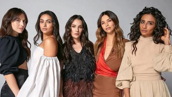 ¿Zuria Vega, Renata Notni, Oka Giner, Juanita Arias y Sofía Engberg volverán para la segunda temporada? (Foto: Netflix)