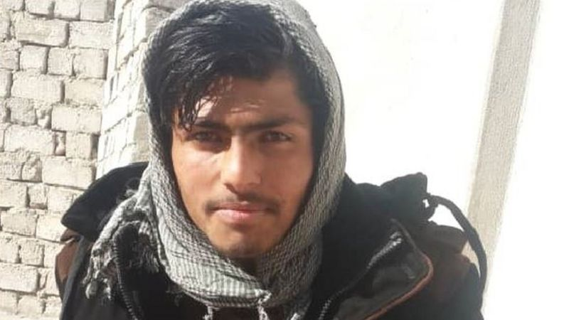 Shafiullah, de 16 años, le pagó a Noor para que lo llevara a Europa. (Foto: Sher Afzal)