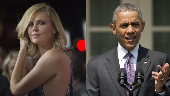 Charlize Theron y su insólita recomendación a Barack Obama