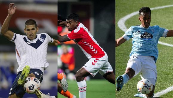 Selección peruana: Abram, Araujo y Tapia tienen opciones de cambiar de club antes de la Copa América 2021. (Foto AFP)