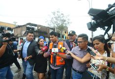 Alcalde de Villa El Salvador tuvo que retirarse de zona del siniestro por el reclamo de los afectados