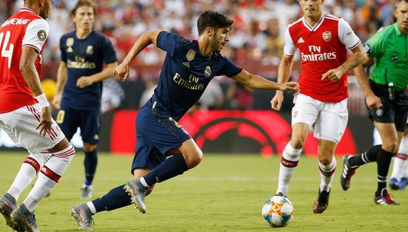 Marco Asensio sufrió una durísima lesión a la rodilla. (Foto: Reuters)
