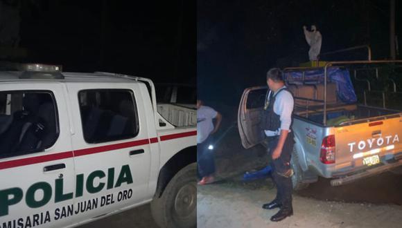 Atraco se registró en el sector Challachalla. (Foto: PNP)
