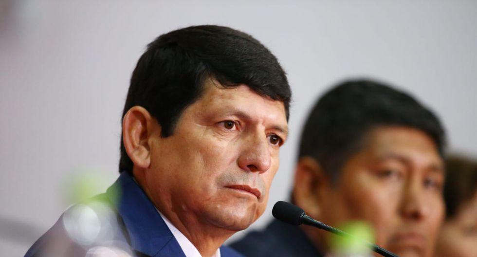 Agustín Lozano asumió como Presidente interino de la Federación de Peruana de Fútbol | Foto: Jesús Saucedo/GEC