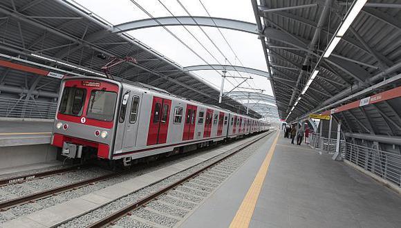 La línea 1 del metro de Lima es una de las obras señaladas por el reporte de contraloría sobre el Caso Lava Jato. (Foto: El Comercio)