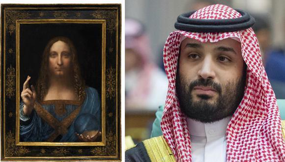 Salvator Mundi: La pintura más cara del mundo estaría en el yate del príncipe heredero saudí Mohammed Bin Salman. (Reuters / AFP).