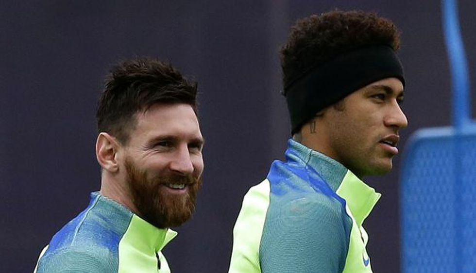 Messi y Neymar, juntos en Barcelona (Foto: Archivo)