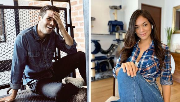 Jazmín Pinedo y Jesús Neyra fueron pareja durante el 2011 y siempre confirmaron ser buenos amigos. (@jazminpinedo / @jesusneyra).