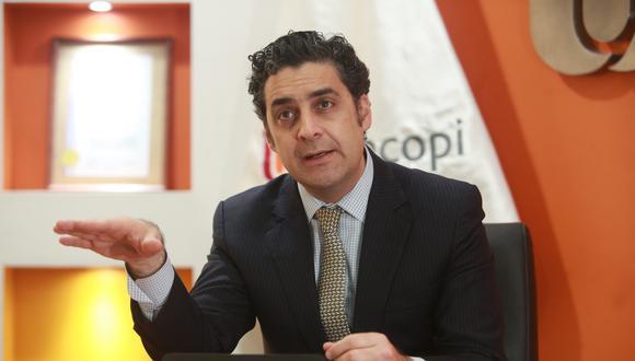 """""""Si uno dice que no, no pasaría la fusión"""", dijo Gagliuffi sobre las opiniones compartidas de Indecopi y SBS."""