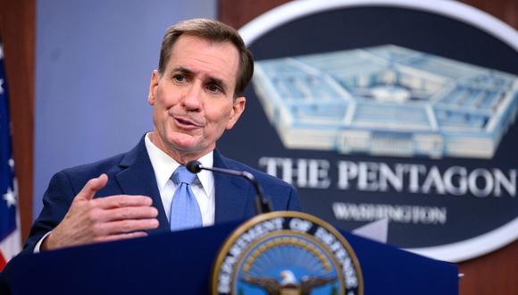 El portavoz del Pentágono, John F. Kirby. (Foto: Defense.gov).