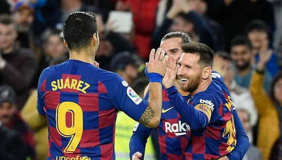 Barcelona y Espanyol  juegan el clásico de Cataluña por la Liga Santander. Conoce los horarios y canales de transmisión de todos los partidos de hoy, sábado 4 de enero. (AFP)