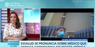 Coronavirus en Perú: médico que ofrecía medicamento sin receta médica será suspendido