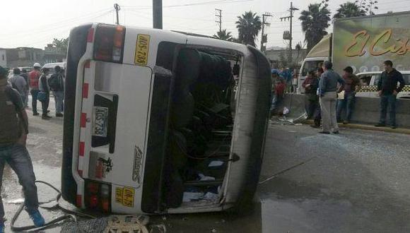 1,2 mlls. de personas mueren al año por accidentes de tránsito