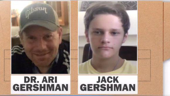Luego de ver cómo asesinaban a su padre, Jack huyó hacia el boque, donde estuvo más de 30 horas. (Foto. Captura CBS)